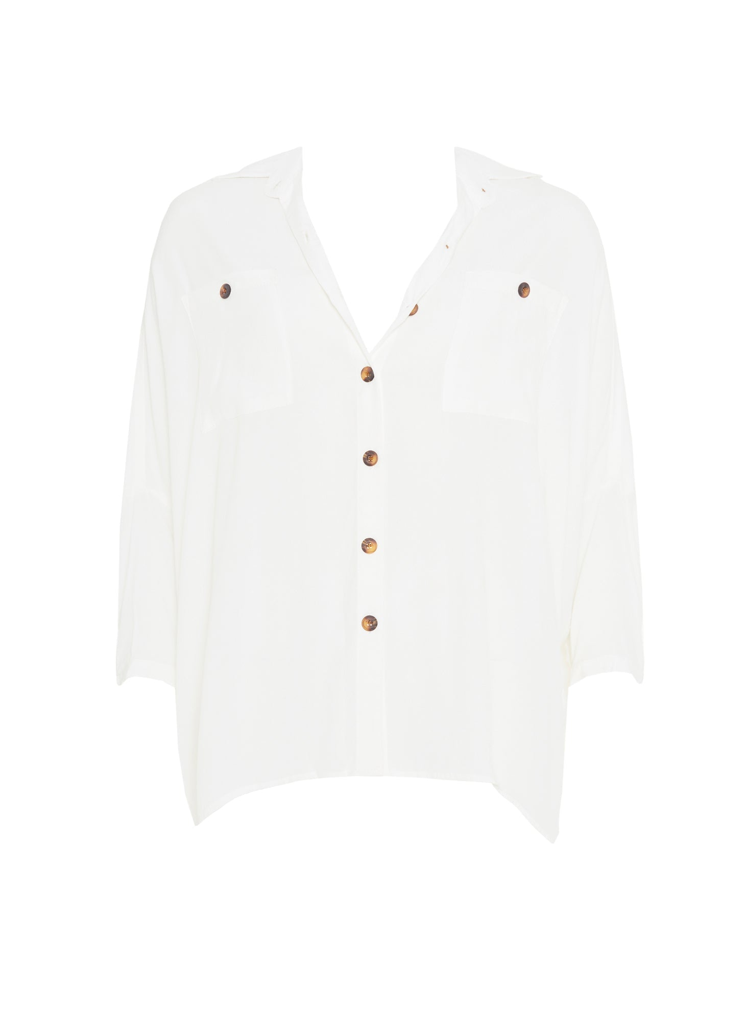 PLAIN WHITE - LUMA SHIRT