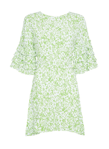 FREJA FLORAL PRINT - SERAFINA DRESS