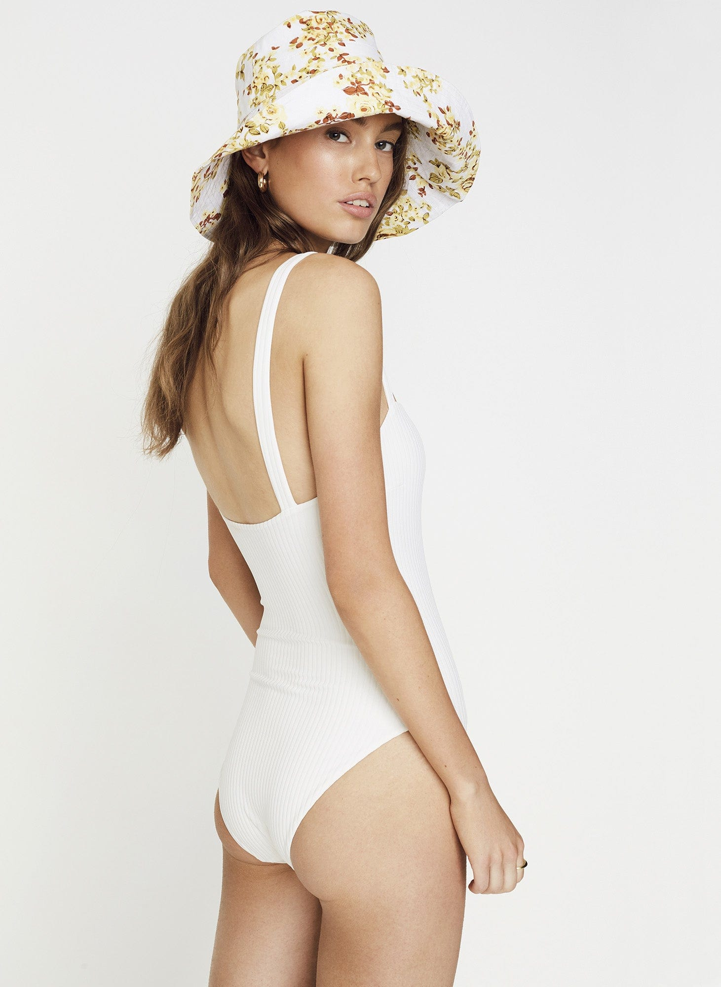04aaf125467 PLAIN WHITE RIBBING - PHOEBE ONE PIECE | FAITHFULL THE BRAND |  INTERNATIONAL .