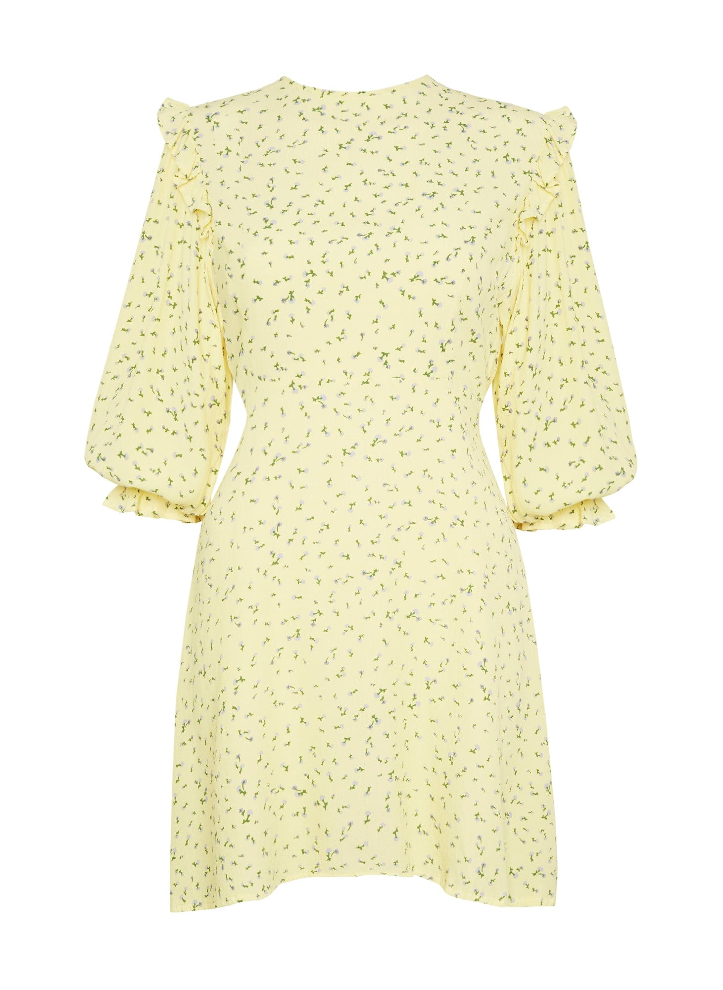 LA FICA FLORAL PRINT - EDWINA MINI DRESS