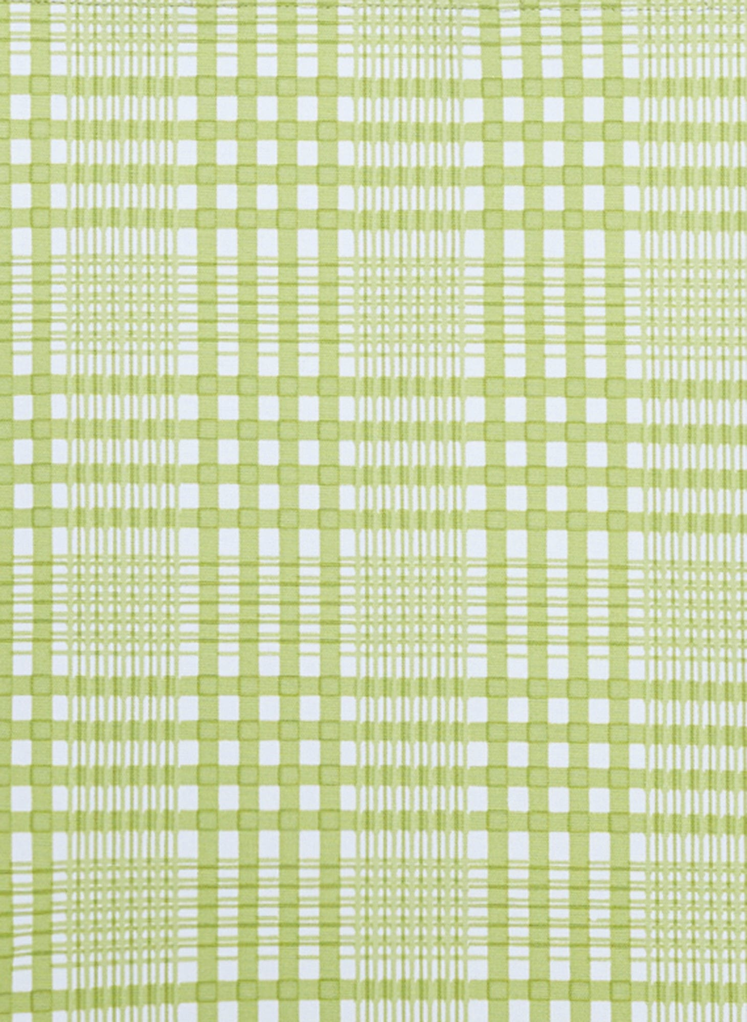 DJERRA CHECK - LIME - YASMIN MIDI DRESS