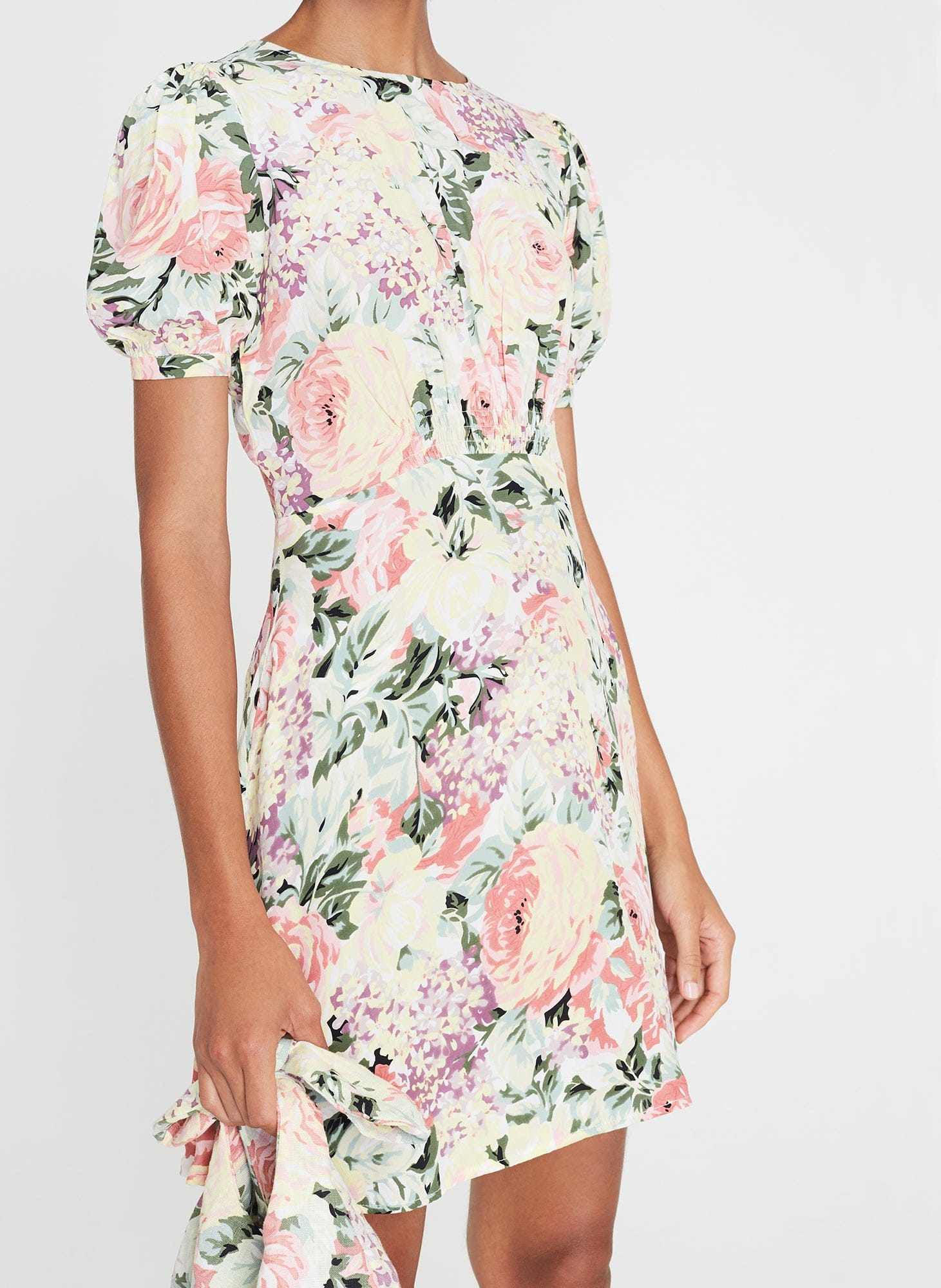 Sidonie Mini Dress Venissa Floral