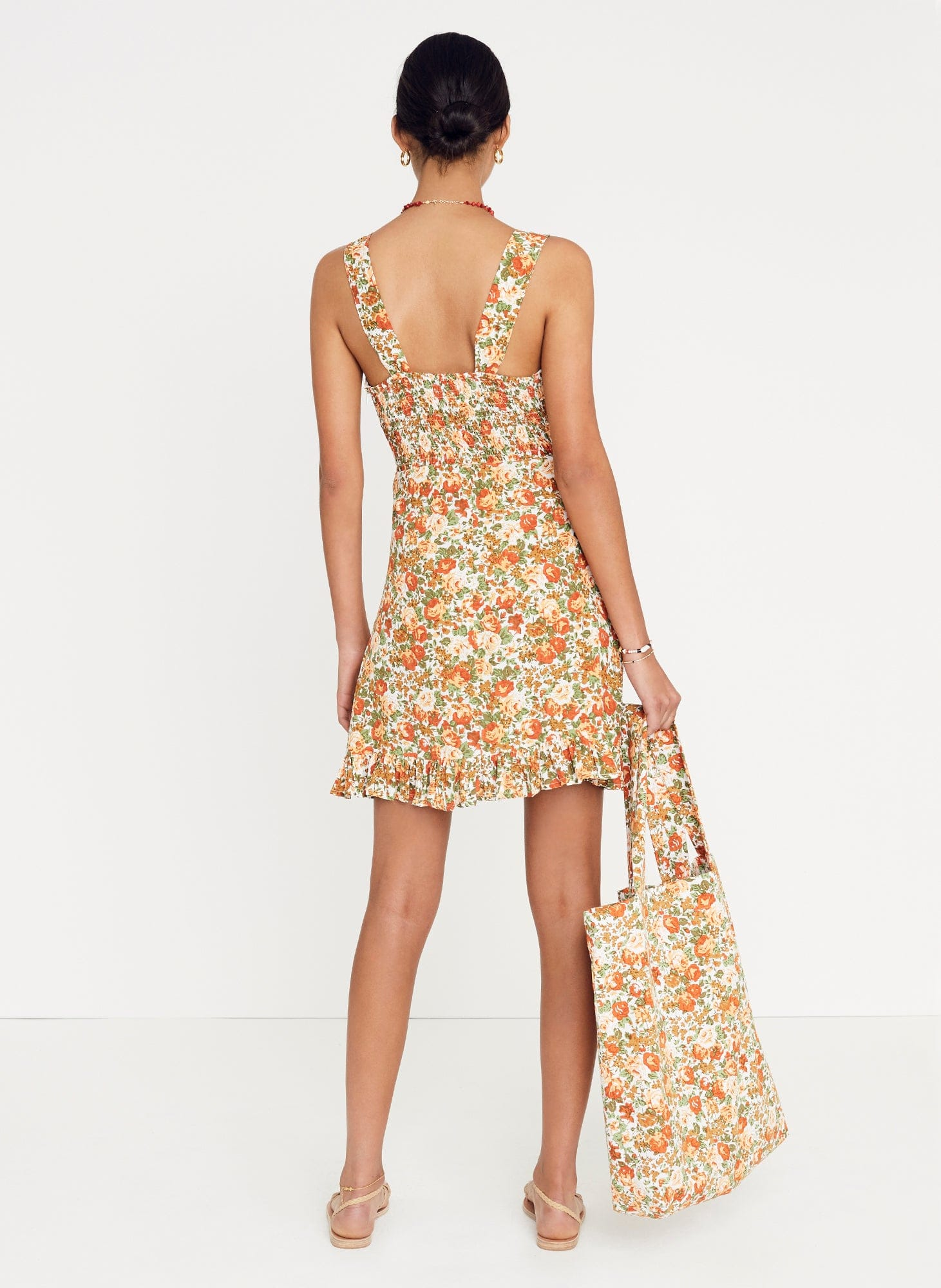 Le Rose Floral Print - Lou Lou Mini Dress