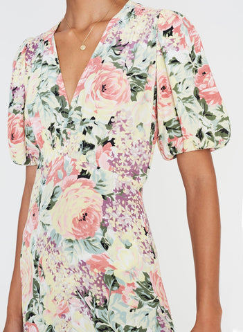 Vittoria Midi Dress Venissa Floral