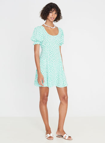 La Barben Mini Dress Cora Floral