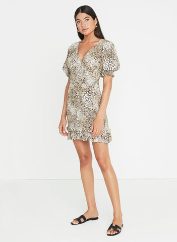 Signe Animal Print - Margherita Mini Dress