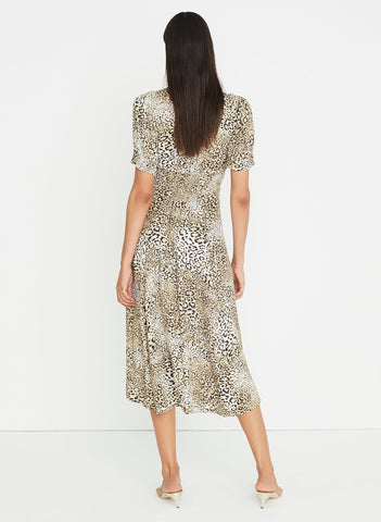 Signe Animal Print - Meadows Midi Dress