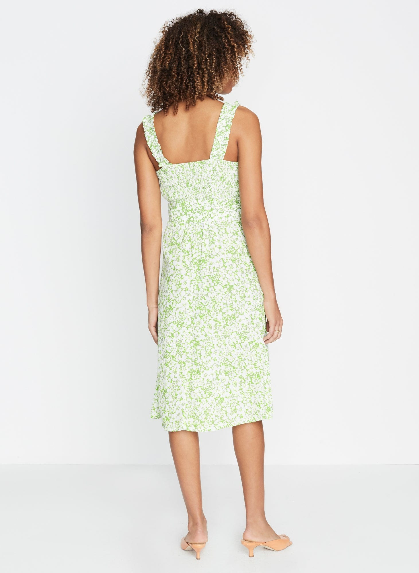 Mae Midi Dress Freja Floral