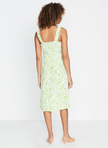 Freja Floral Print - Mae Midi Dress