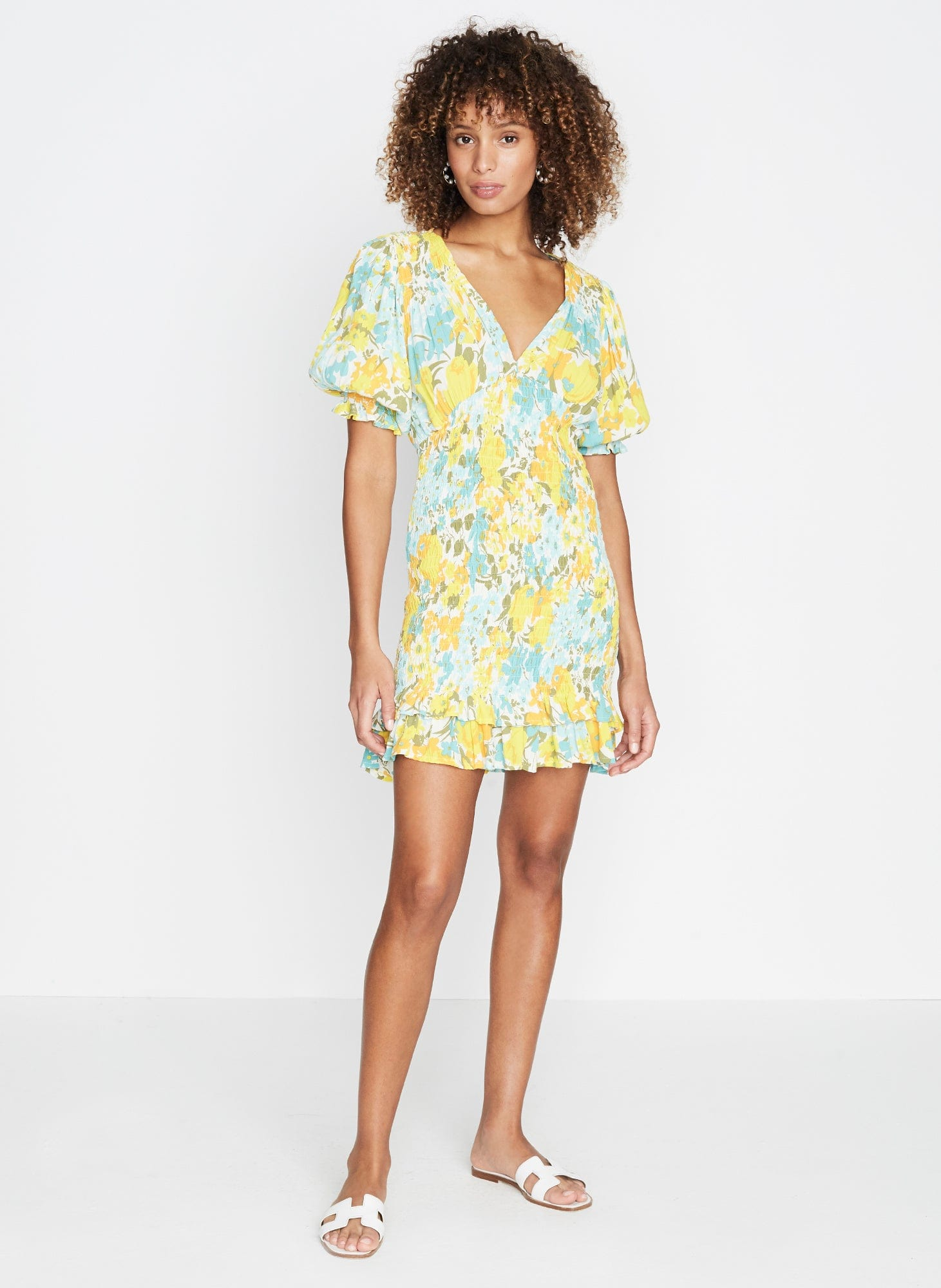 Annina Floral Print - Margherita Mini Dress