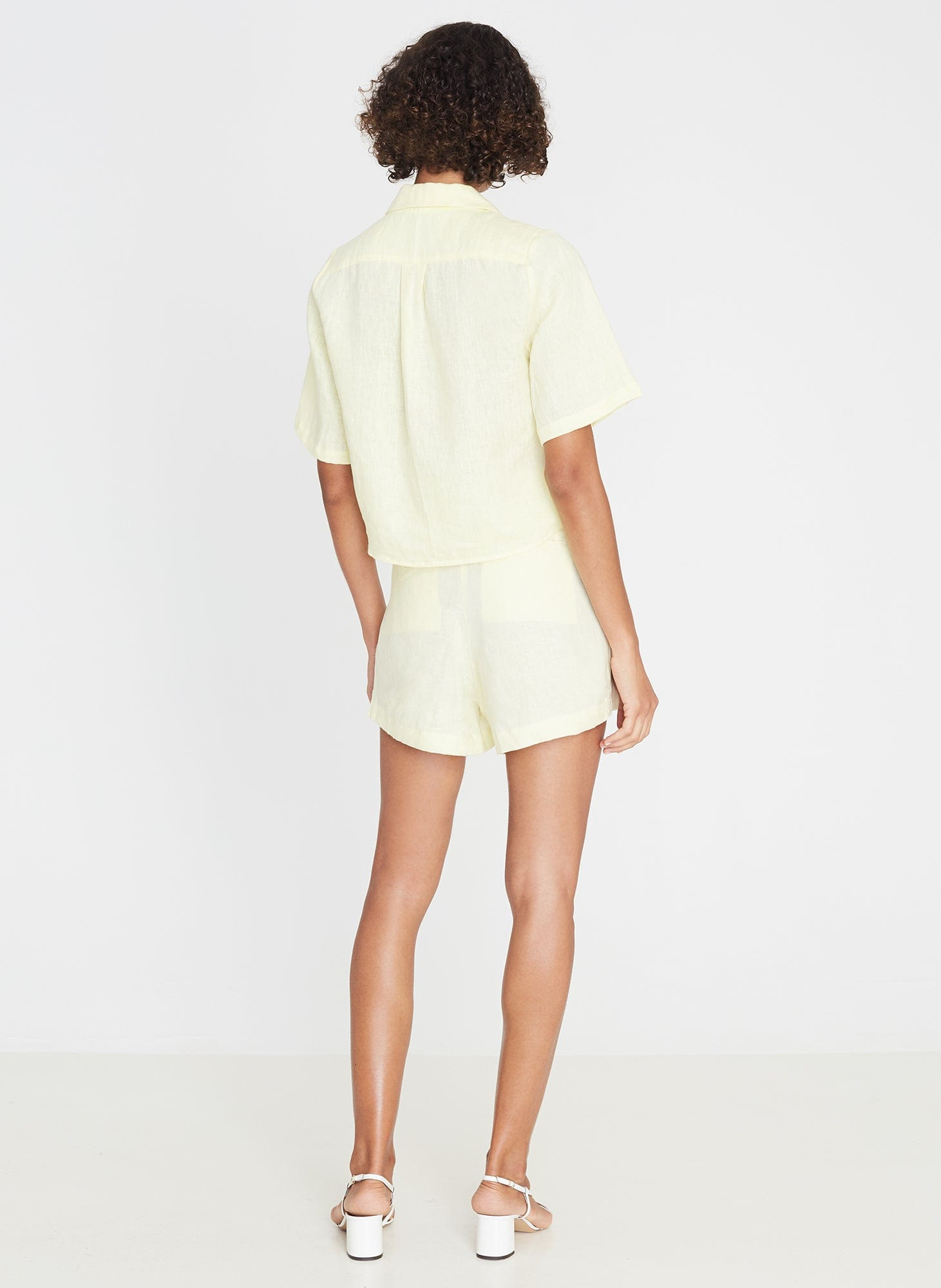 Plain Daffodil Yellow - Celia Skort