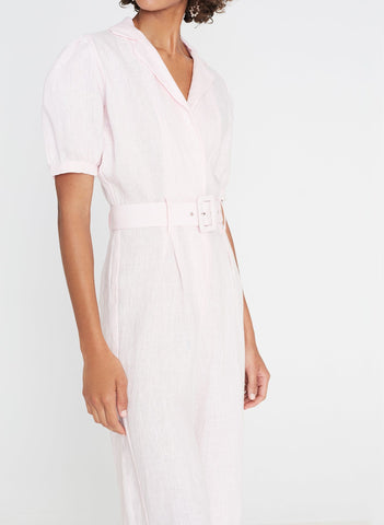Frederikke Boilersuit Plain Ice Pink