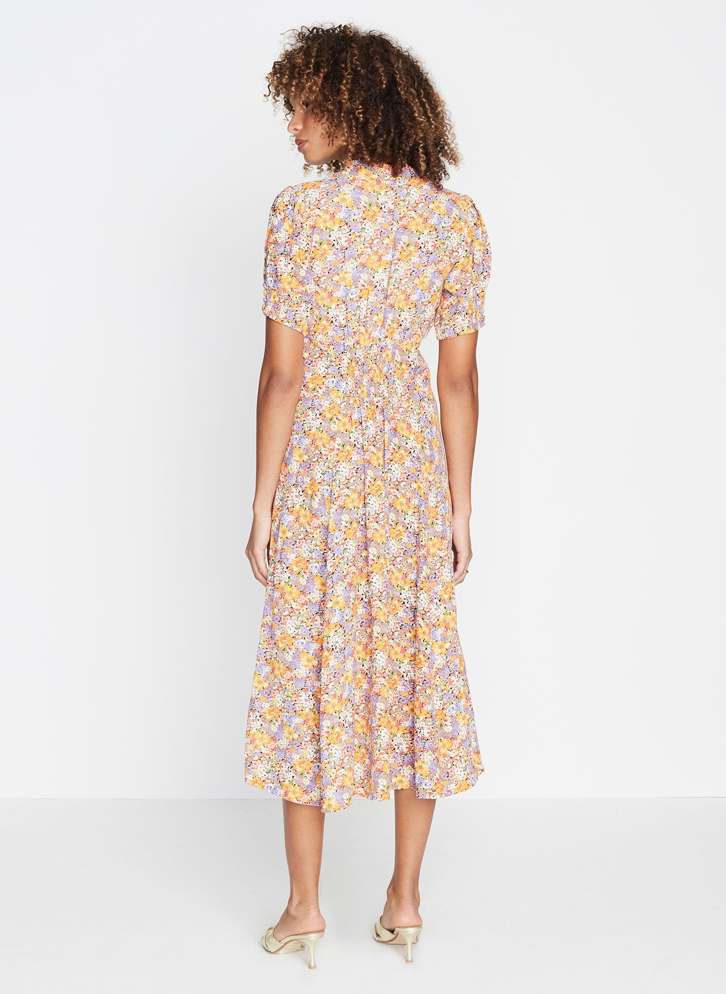 MEJA FLORAL PRINT - MEADOWS MIDI DRESS
