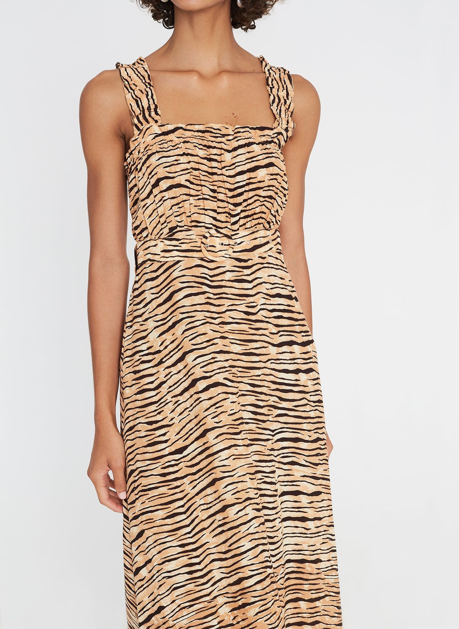 Saint Tropez Midi Dress Wyldie Animal