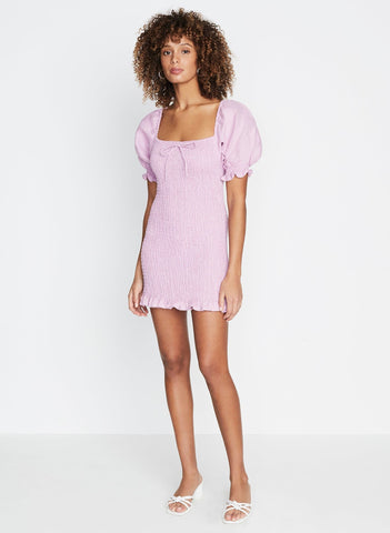 Plain Iris - Annibelis Mini Dress