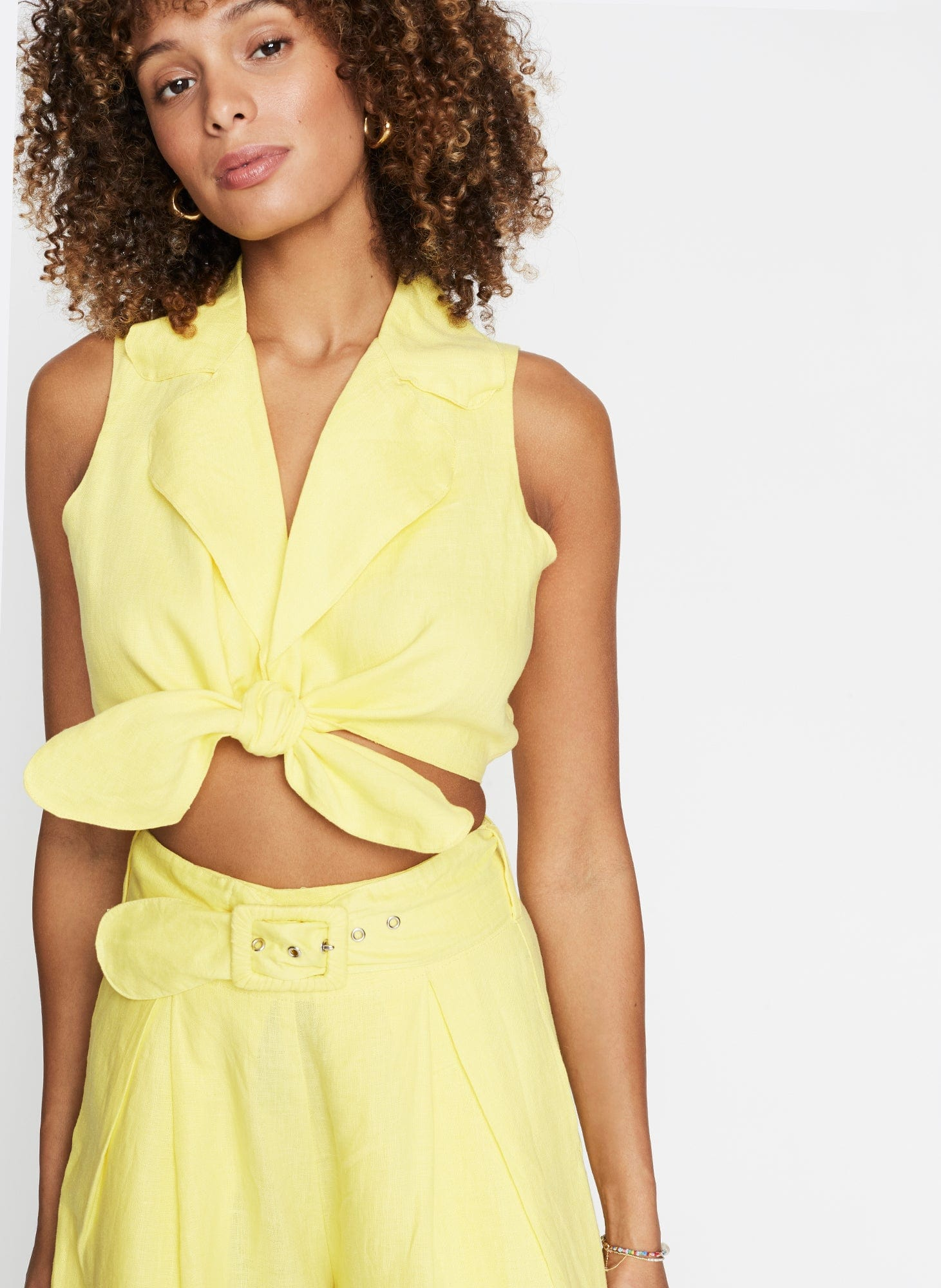 Fernanda Top Plain Lemon