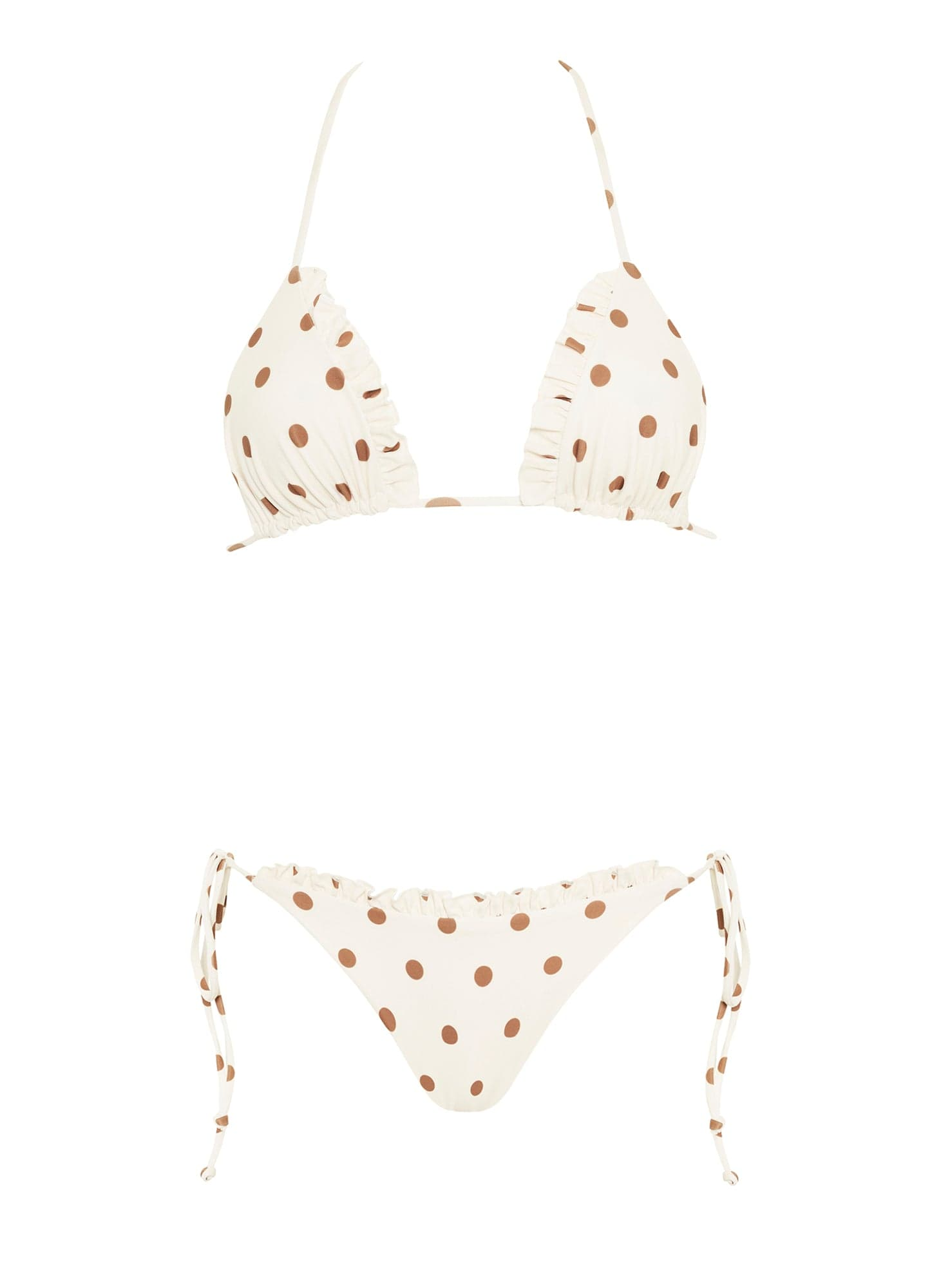 SYLVE DOT PRINT - LEMON - FONTAINE BIKINI