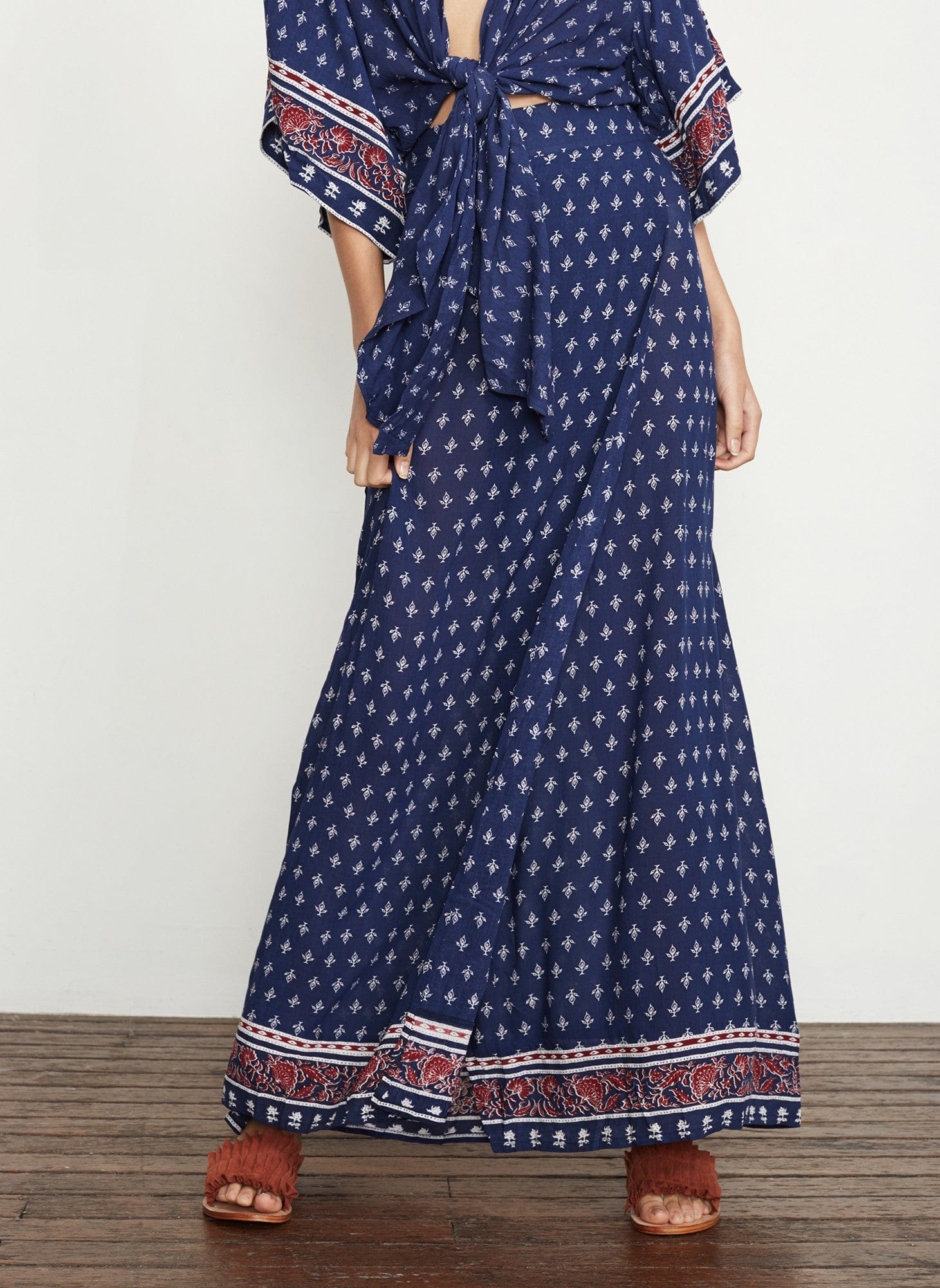 GYPSY PRINT - TERRE MAXI SKIRT - FINAL SALE