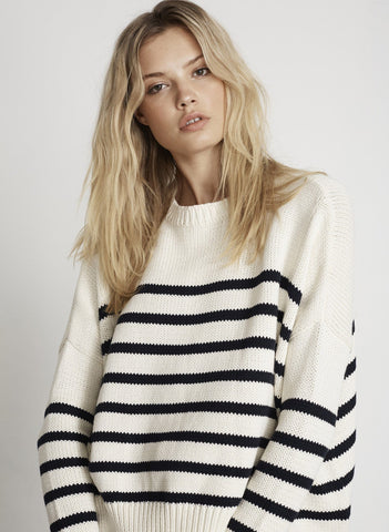 PUGLIA KNIT SWEATER - STRIPE