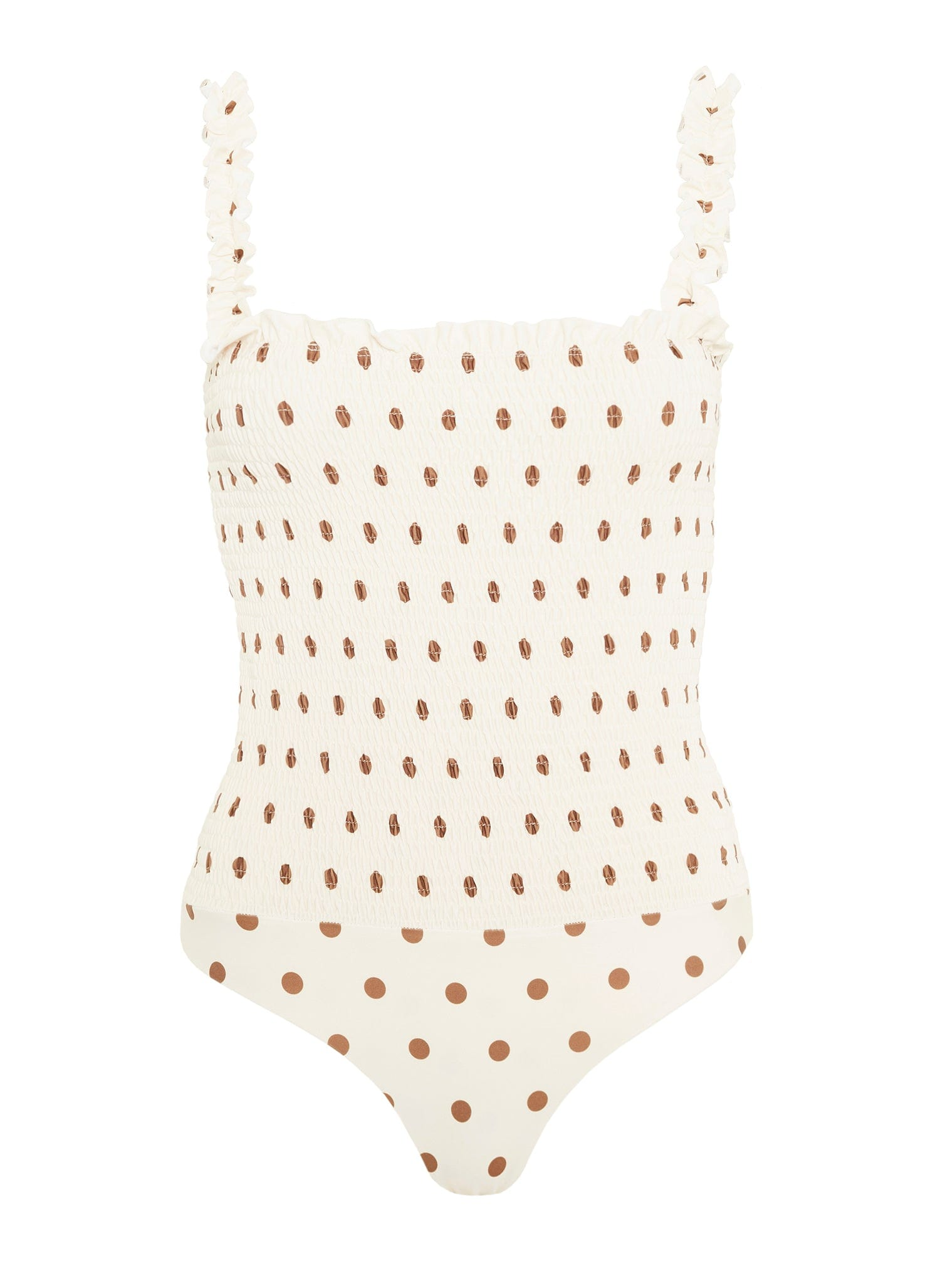 SYLVE DOT PRINT - LEMON - KAIA ONE PIECE