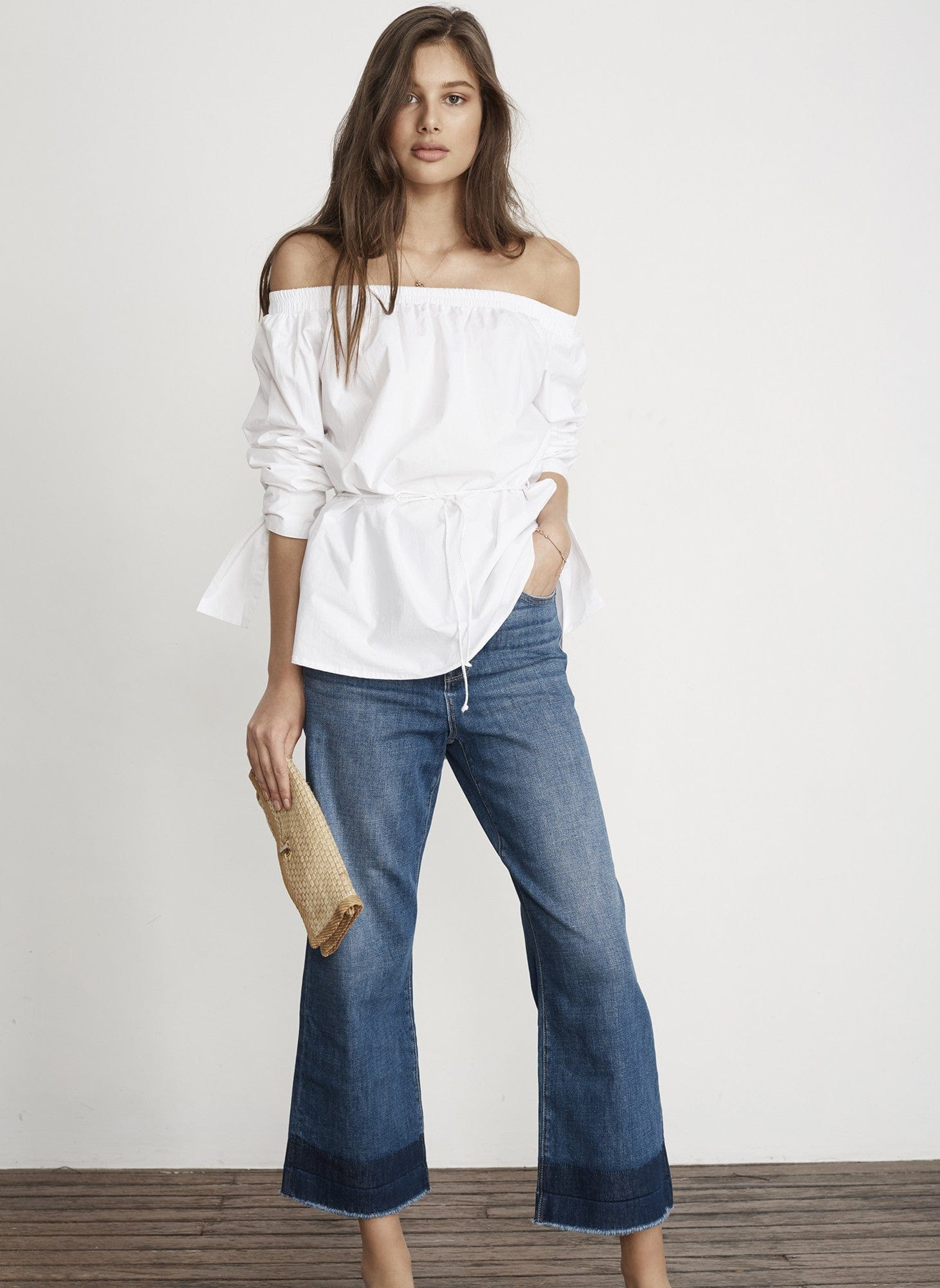 PLAIN WHITE - POLONIA TOP