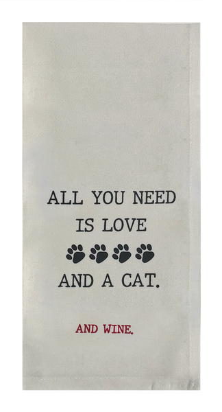 All You Need is Love and a Cat...and Wine.