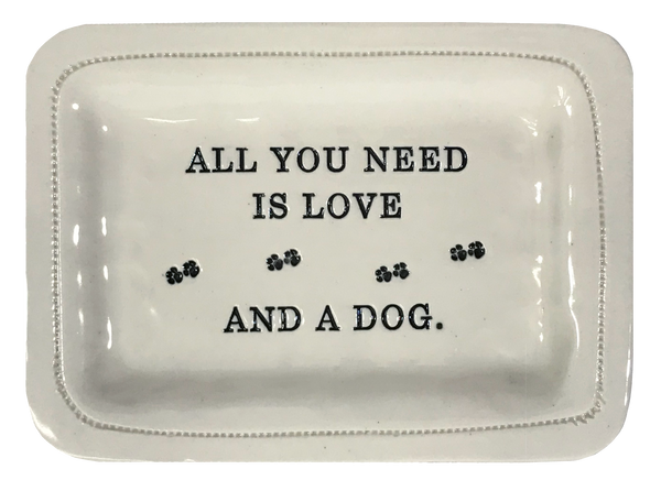 All You Need Is Love and a Dog.