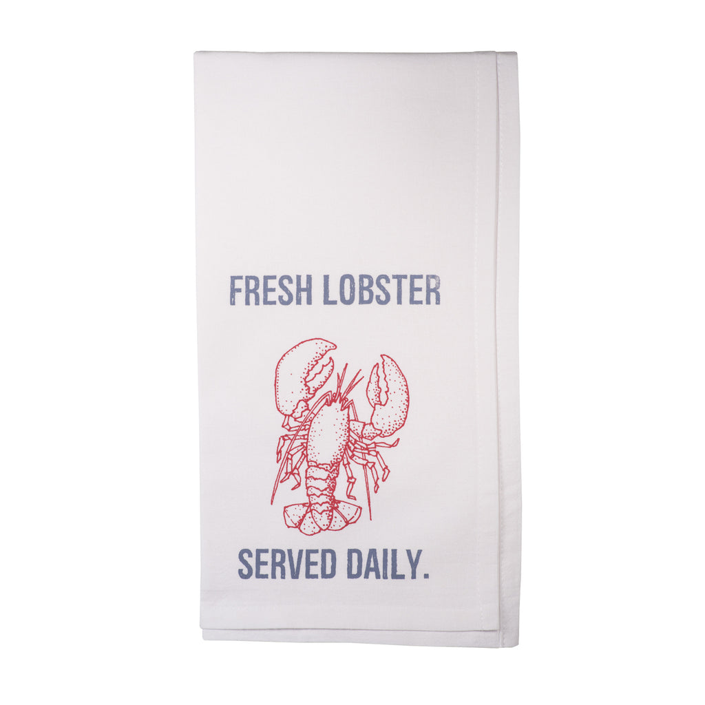 Fresh Lobster.  Served Daily.