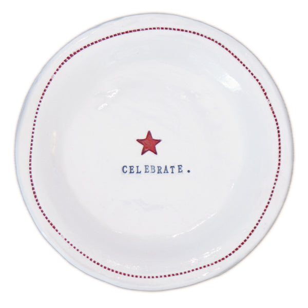 Celebrate.- Porcelain Round