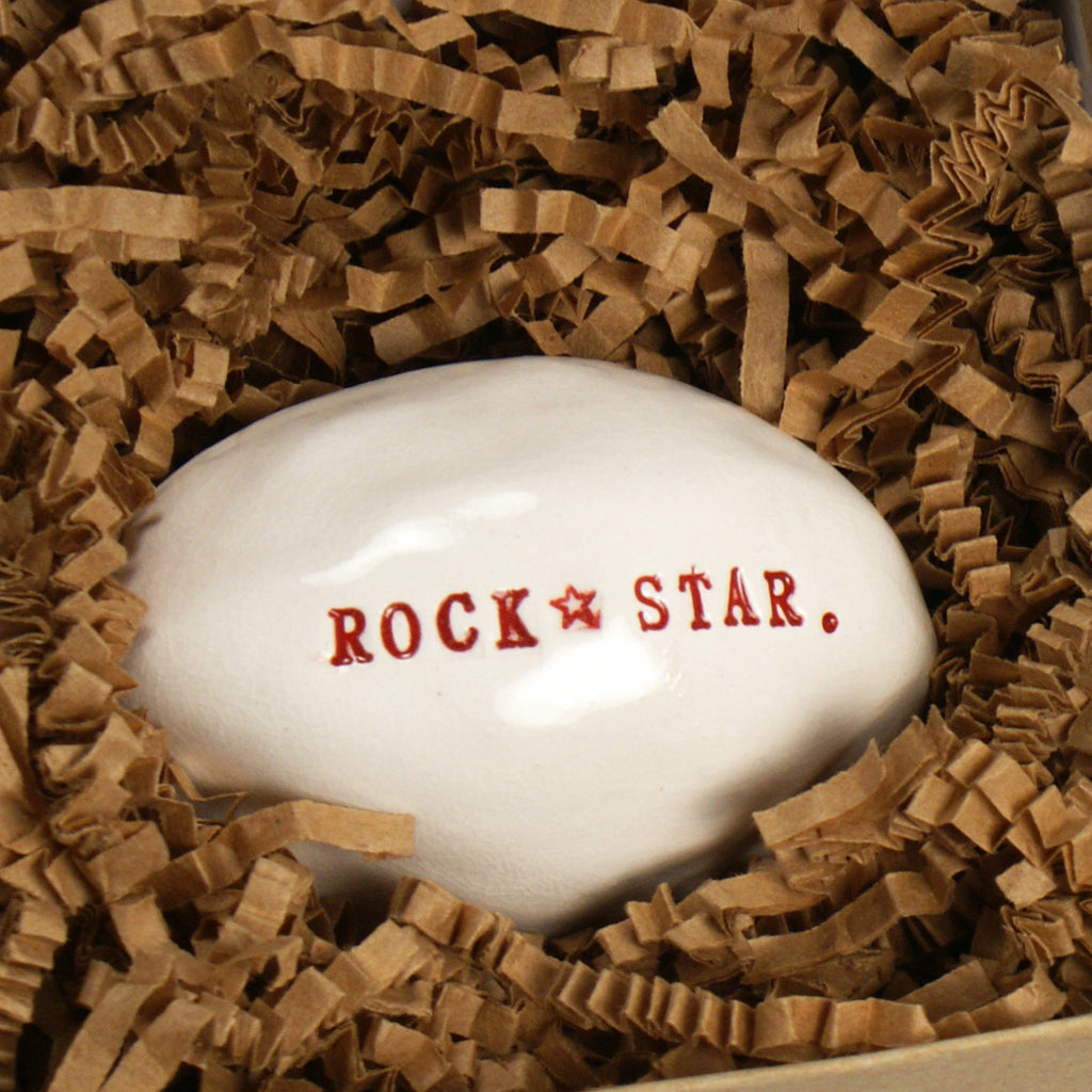Rock Star. - Porcelain Sculpture