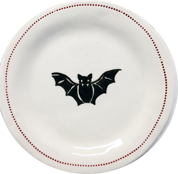 Bat - Porcelain Round