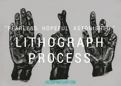 fearless hopeful astonished lithograph process print blot title image