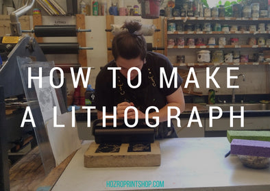 how to make a lithograph title image