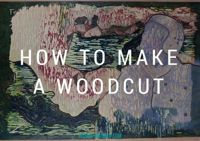 how to make a woodcut title image