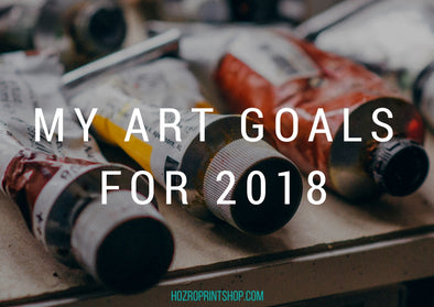 My Art Goals for 2018