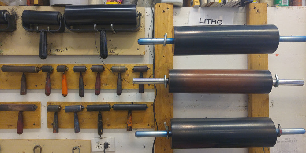 lithography brayers and rollers