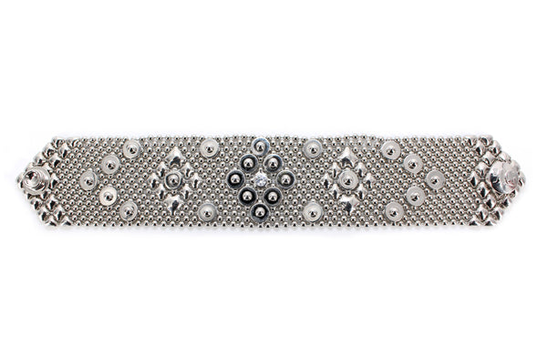 B63- N (Chrome Finish) Bracelet