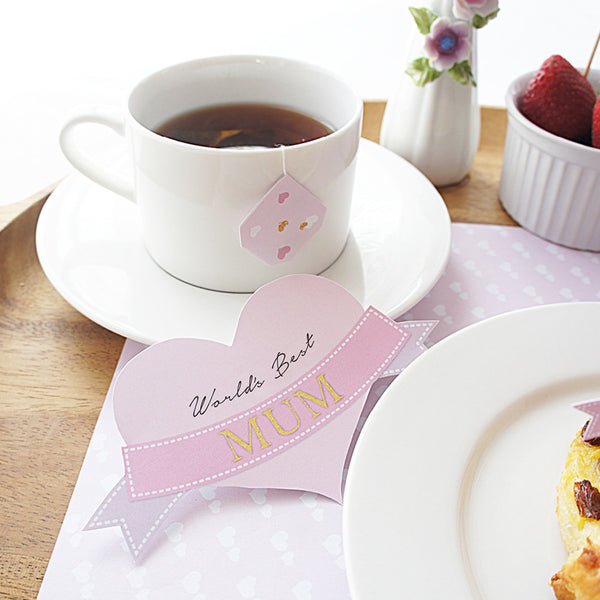 Mother's Day Breakfast In Bed Printable DIY - Mum