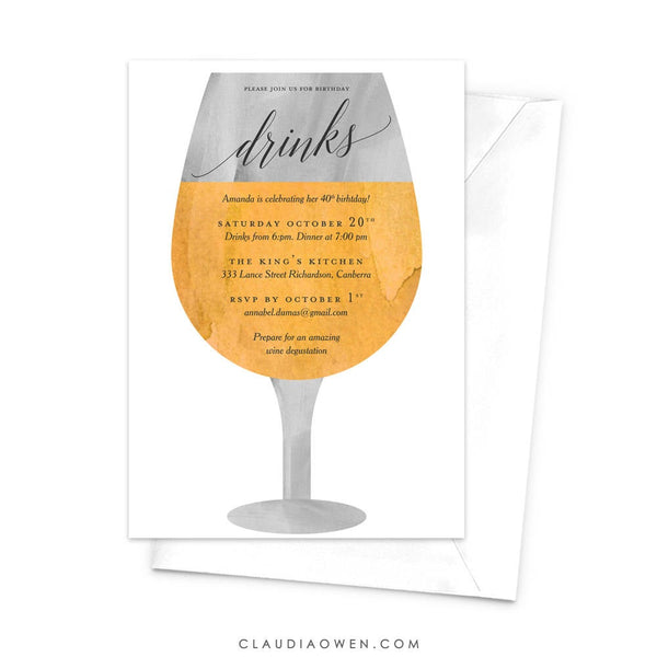 White Wine Invitation Wine and Dine Wine Lovers Wine Degustation Winery Tour Glass Of Wine Food and Wine Alcohol Wine Party Wine and Cheese