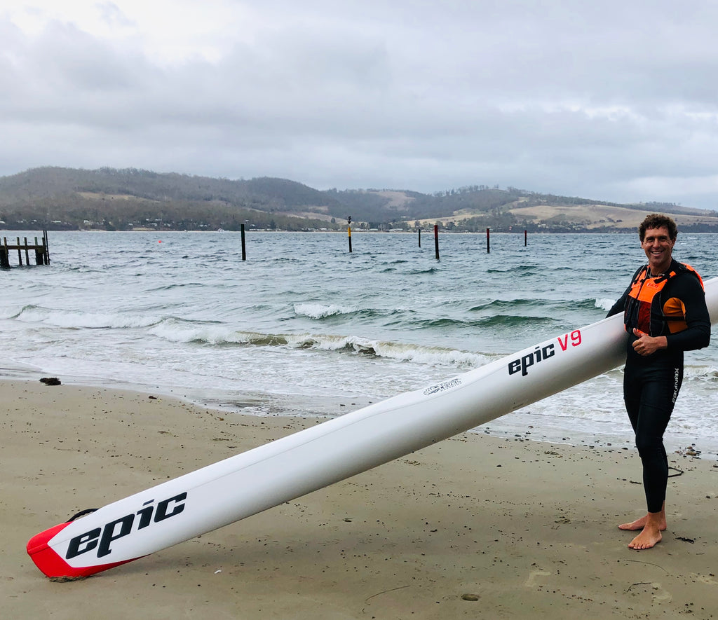 New Epic V9 Surf Ski at Next Level Kayaking