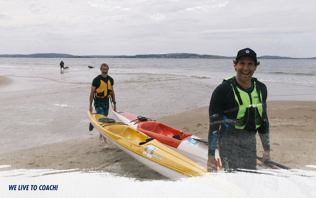We love to coach paddling at Next Level Kayaking Tasmania