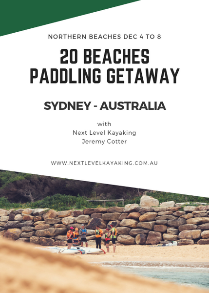 20 Beaches Downwind Paddling Getaway Next Level Kayaking Hobart Tasmania Sydney New South Wales Northern Beaches Australia