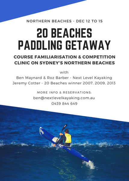 20 Beaches Paddling Getaway Hobart Tasmania Sydney Northern Beaches Victoria Next Level Kayaking
