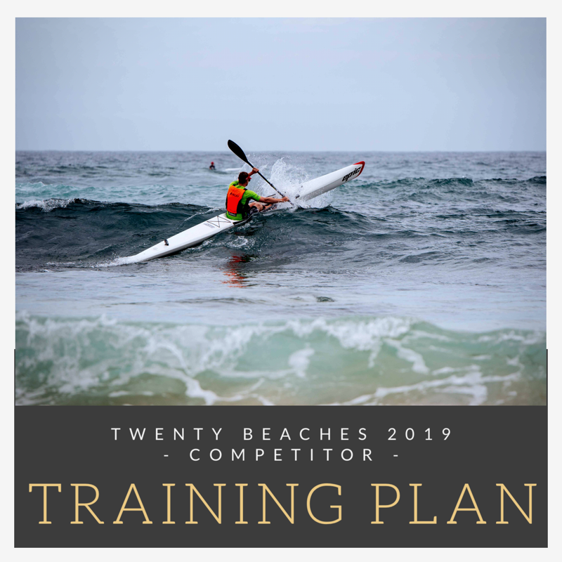 20 Beaches Training Plan - Competitor