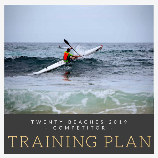 20 Beaches Downwind Paddling Getaway Next Level Kayaking Hobart Tasmania Sydney New South Wales Northern Beaches Australia competitor training plan