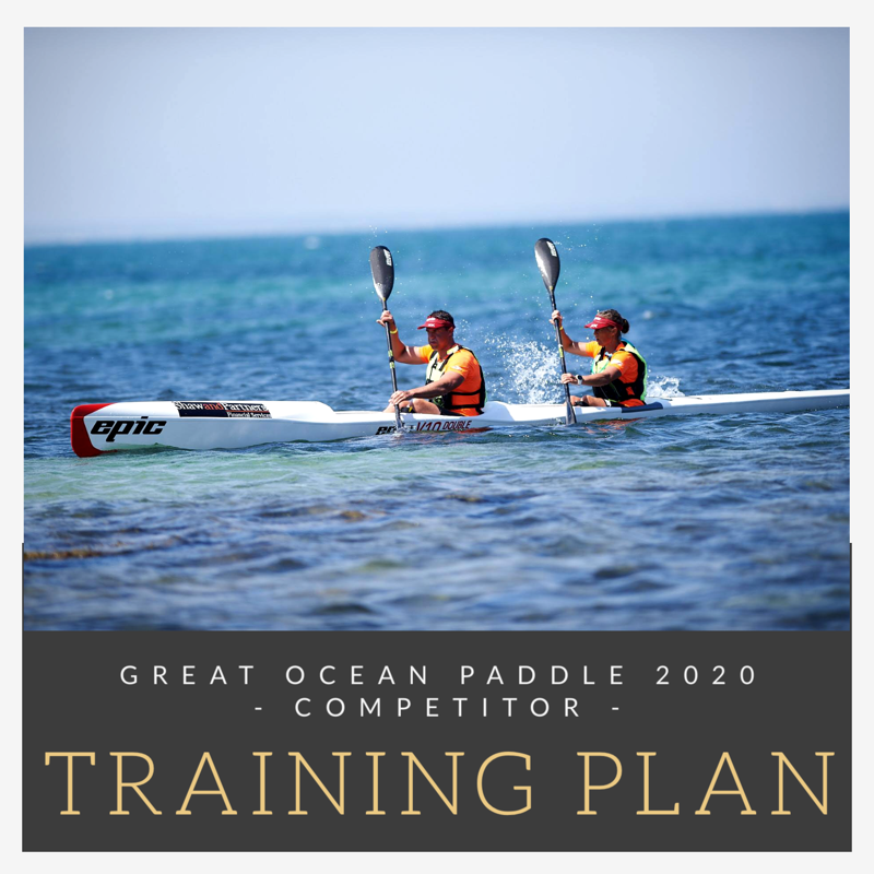 Great Ocean Paddle Training Plan - Competitor