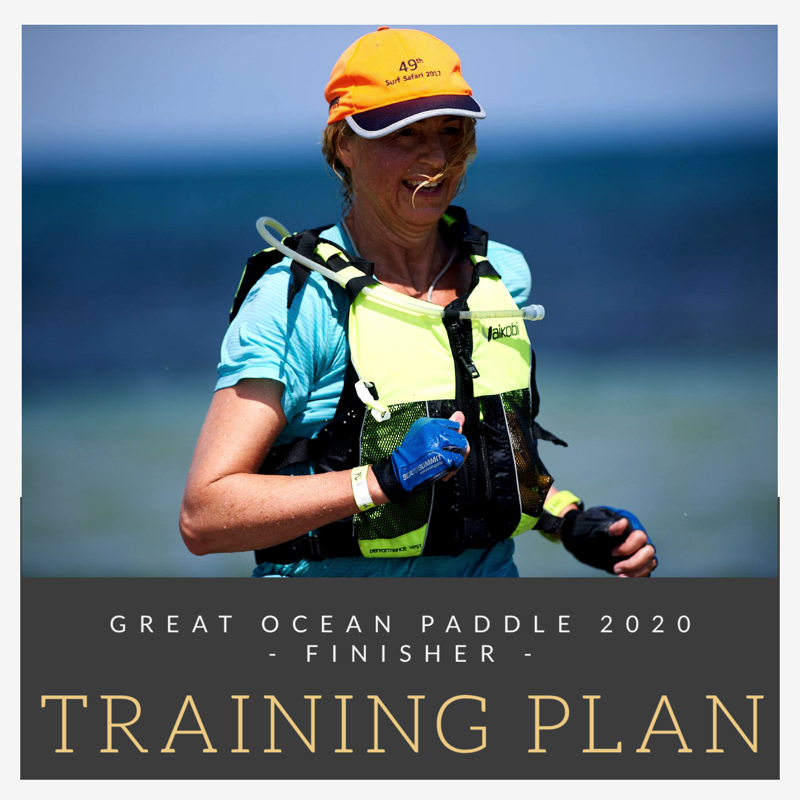 Great Ocean Paddle Training Plan - Finisher