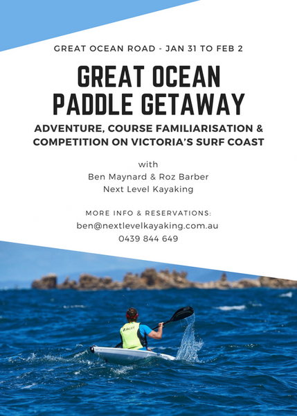 Great Ocean Paddle Getaway Hobart Tasmania Sydney Surf Coast Torquay Angelsea Barwon Heads Ocean Grove Geelong Melbourne Victoria Next Level Kayaking
