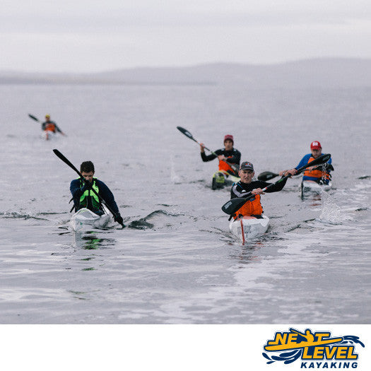 Next Level Kayaking's HIIT Paddle Group Training Hobart Tasmania