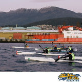Next Level Kayaking's Moving Targets Training Group Hobart Tasmania